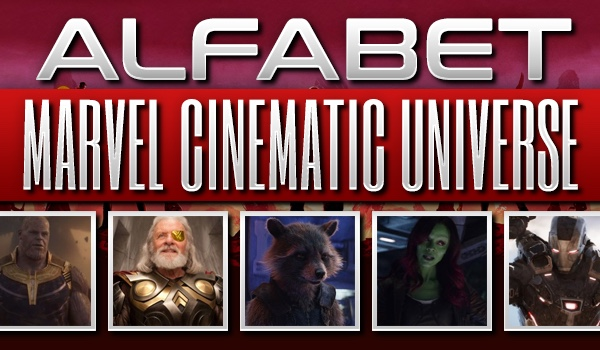 "Alfabet ""Marvel Cinematic Universe""!"