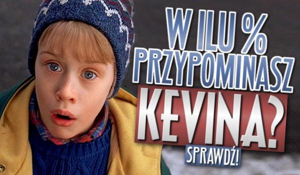 W ilu % przypominasz Kevina?