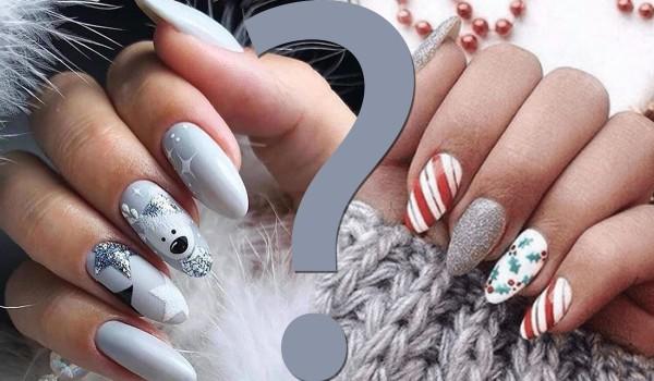 Który manicure jest ładniejszy? Edycja zimowa