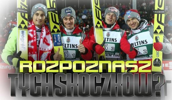 Rozpoznasz tych skoczków narciarskich?