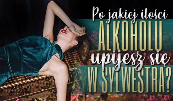 Zdrapka – po jakiej ilości alkoholu upijesz się w Sylwestra?