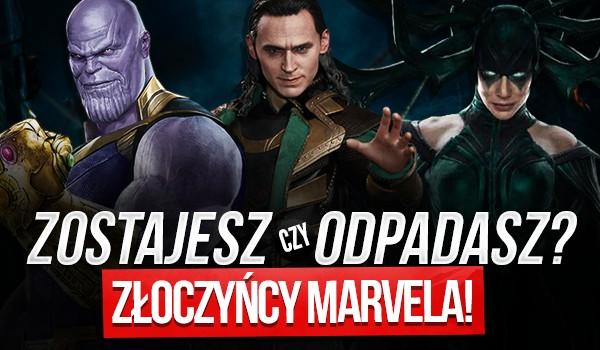 """Zostajesz czy odpadasz? – Złoczyńcy """"Marvela""""!"""