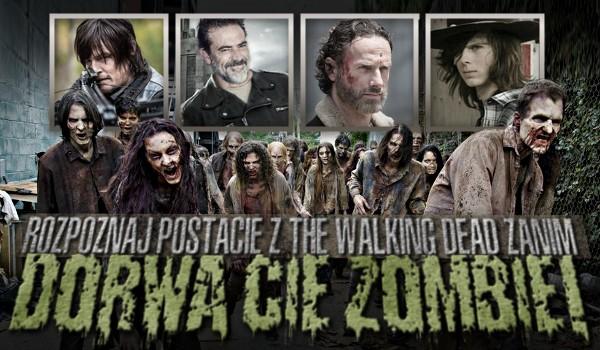 """Rozpoznaj postacie z """"The Walking Dead"""" zanim dorwą Cię zombie!"""