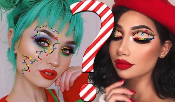 Który świąteczny makijaż wolisz? Głosowanie!