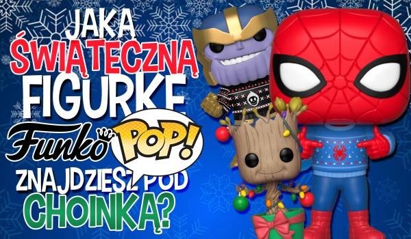 """Jaką świąteczną figurkę """"Funko Pop"""" z Marvela znajdziesz pod choinką?"""