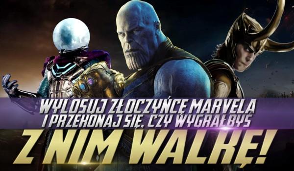 """Wylosuj złoczyńcę """"Marvela"""" i przekonaj się, czy wygrałbyś z nim walkę!"""