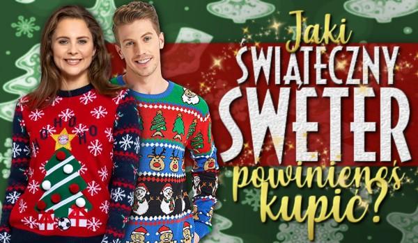 Jaki świąteczny sweterek powinieneś kupić?