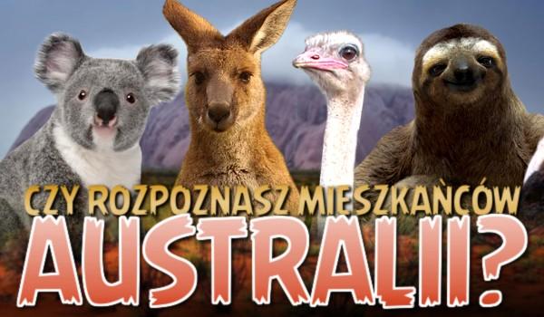 Czy rozpoznasz mieszkańców Australii?