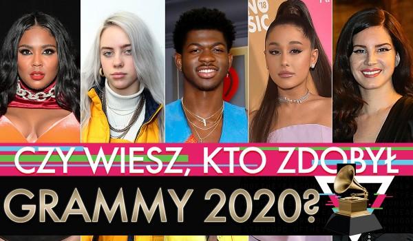 Czy wiesz kto zdobył Grammy 2020?