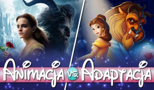 Animacja vs. adaptacja – Bajki Disney'a