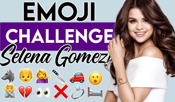 Emoji Challenge: Selena Gomez!