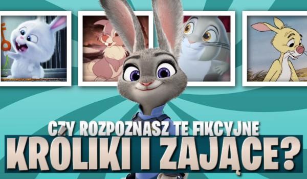 Czy rozpoznasz te fikcyjne króliki i zające?