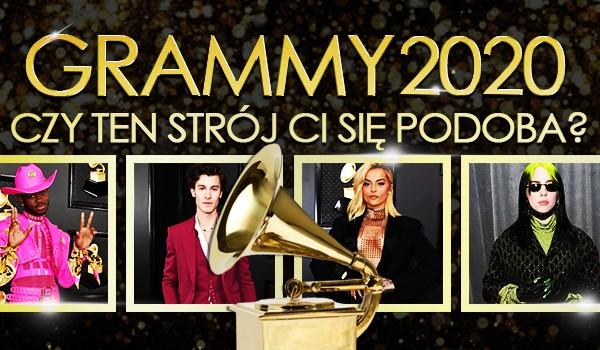Grammy 2020: Czy ten strój Ci się podoba?