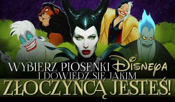 """Wybierz piosenki """"Disneya"""" i dowiedz się jakim złoczyńcą jesteś!"""