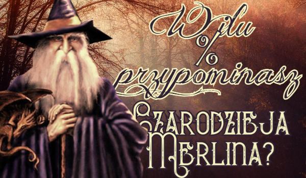 W ilu % przypominasz czarodzieja Merlina?