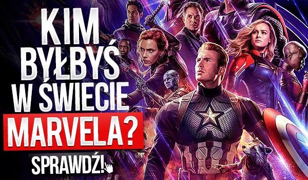 Kim byłbyś w świecie MARVELA?
