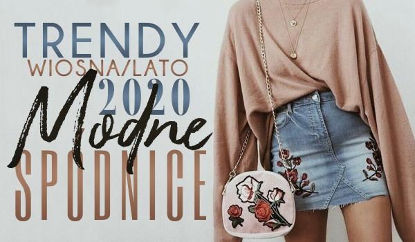 Trendy wiosna/lato 2020: Modne spódnice