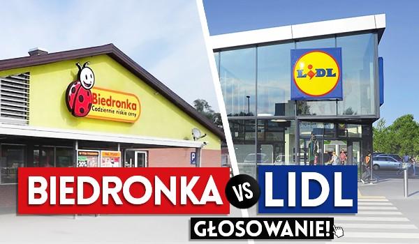 Biedronka vs Lidl – Głosowanie!