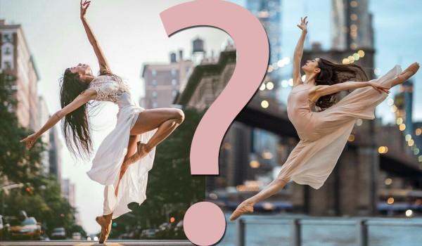 Które baletowe zdjęcie jest ładniejsze? Zagłosuj!