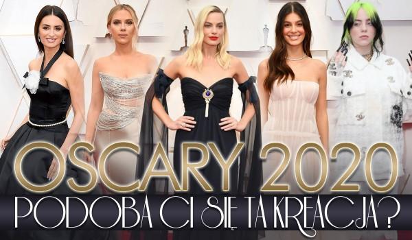 Oscary 2020: Czy ten strój Ci się podoba?