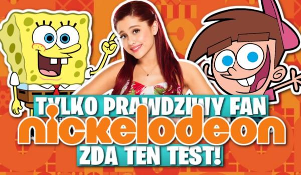 """Tylko prawdziwy fan """"Nickelodeon"""" zda ten test!"""