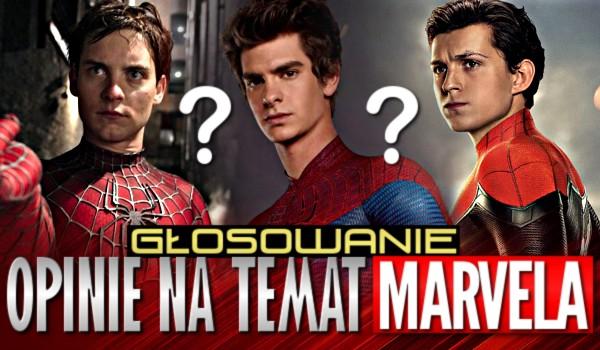 Opinie na temat Marvela – Głosowanie!