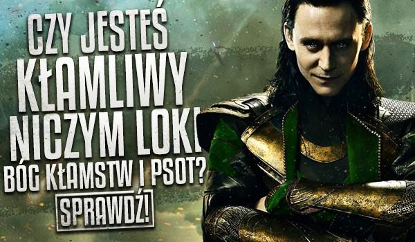 Czy jesteś kłamliwy niczym Loki Bóg Kłamstw i Psot?