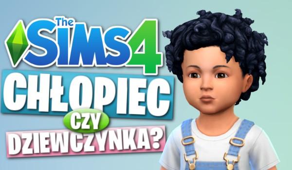 To chłopiec czy dziewczynka? – The Sims 4