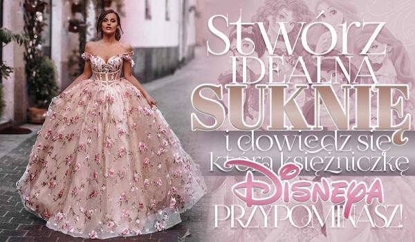 Stwórz idealną suknię i przekonaj się, którą księżniczkę Disneya przypominasz!
