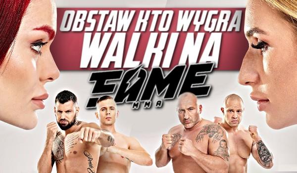 Obstaw, kto wygra walki na Fame MMA 6!