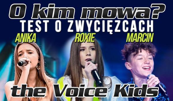 """O kim mowa? Zwycięzcy """"The Voice Kids""""!"""