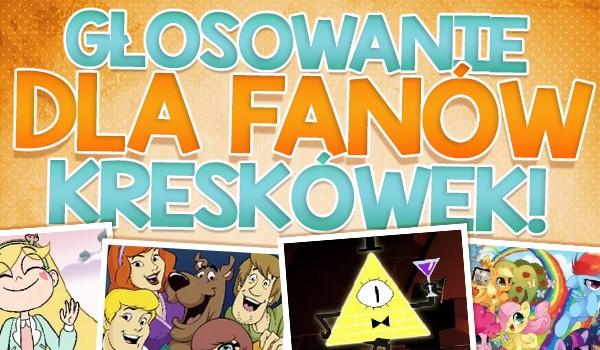 Głosowanie dla fanów kreskówek!