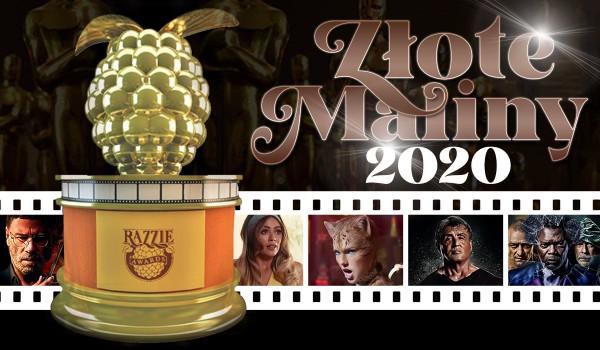 Złote Maliny 2020 – test!