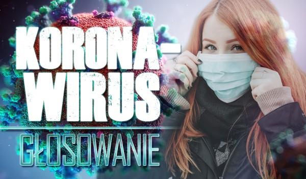 Koronawirus – głosowanie