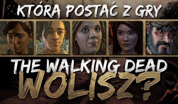 """Trudne wybory! – Którą postać z gry """"The Walking Dead"""" wolisz? Mieszanka sezonów!"""