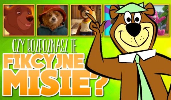 Czy rozpoznasz te fikcyjne misie i niedźwiedzie?