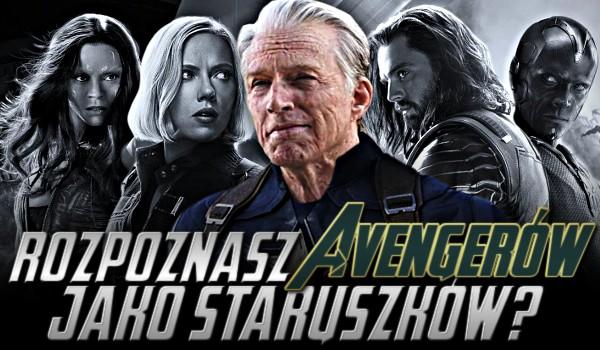 Rozpoznasz Avengerów jako staruszków?