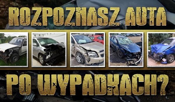 Rozpoznasz auta po wypadkach?