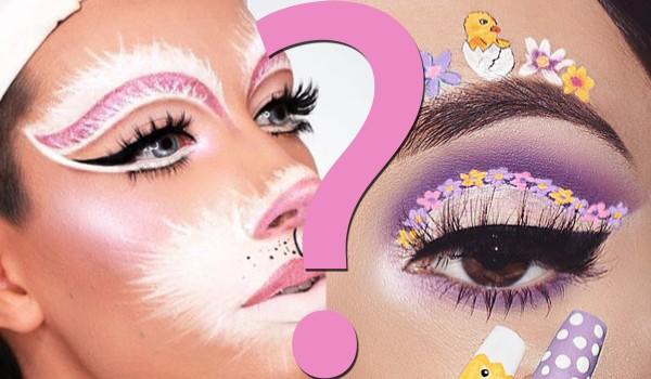 Który wielkanocny makijaż jest ładniejszy? Głosowanie!
