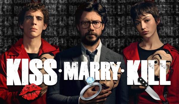 Kiss, marry, kill – Dom z papieru!