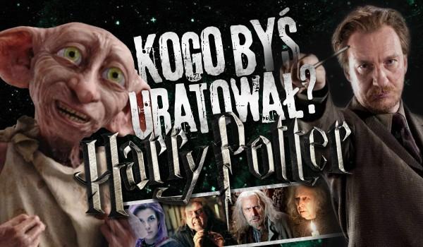 Kogo byś uratował? – Harry Potter