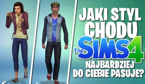 Jaki styl chodu z The Sims 4 najbardziej do Ciebie pasuje?