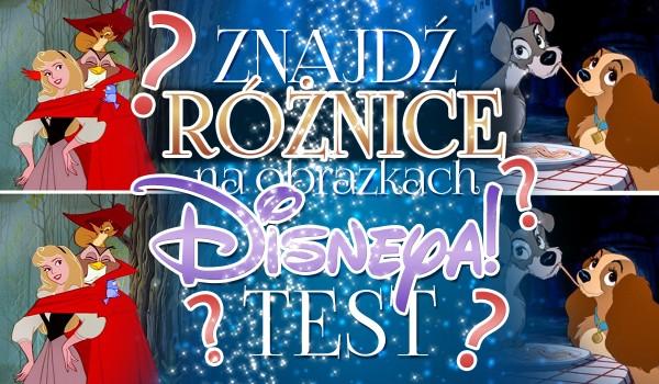 Znajdź różnice na obrazkach Disneya!