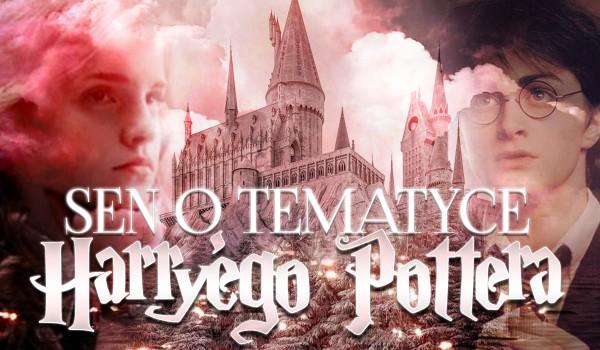 Sen o tematyce Harry'ego Pottera – Zdrapka