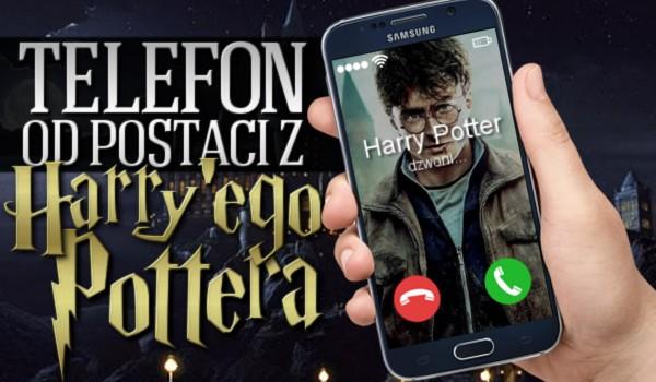 Telefon od postaci z Harry'ego Pottera! Zdrapka!