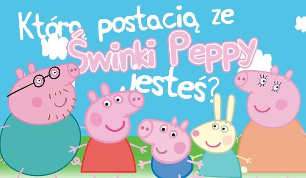 """Którą postacią ze """"Świnki Peppy"""" jesteś?"""