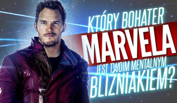 Który bohater Marvela jest Twoim mentalnym bliźniakiem?