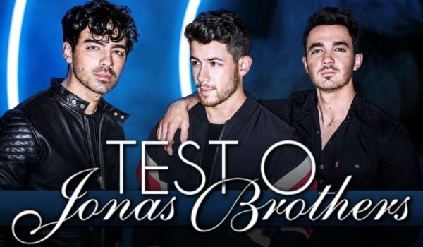 Test o Jonas Brothers!