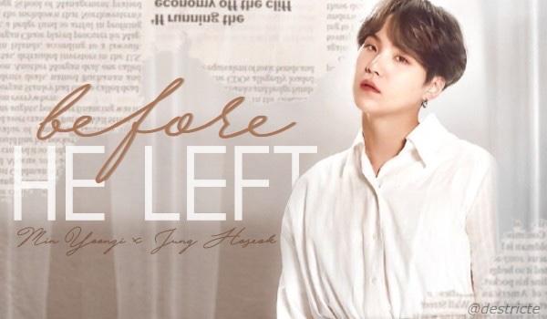 Before he left | [m.yg] & [j.hs]
