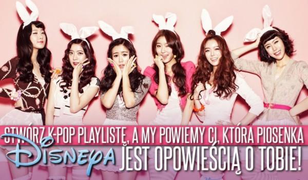 Stwórz swoją k-pop playlistę, a my powiemy Ci, która piosenka Disneya jest opowieścią o Tobie!